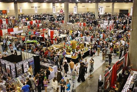 Phoenix Comicon Exhibition Hall
