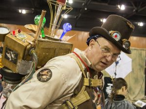 Steampunk Ghostbuster - Day 3 Comicon