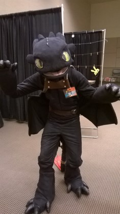 Toothless - Day 2 Comicon