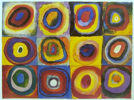 Color Study - Squares with Concentric Rings, 1913