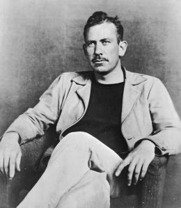 US novelist John Steinbeck (1902 - 1968).   (Photo by Hulton Archive/Getty Images)