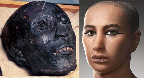 King Tut Reconstruction