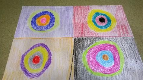 My Kandinsky Circles