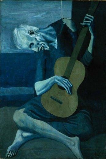 Old Guitarist, 1903