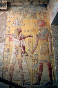 Painted Relief in Tomb of Merneptah, Valley of the Kings, 1203 BCE