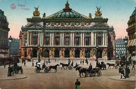 Paris Opera House circa 1900