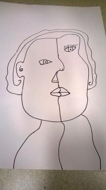 Picasso Portrait example