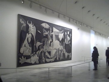 scale of Guernica