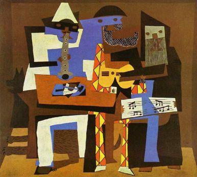 Three Musician, 1921