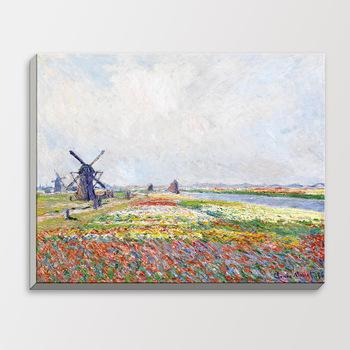 Tulip-Fields-Hague-Claude-Monet-Impressionist-Landscape-Flower-Poster-Gift-Bedroom-Wall-Art-Decor-Wood-Frame.jpg_350x350
