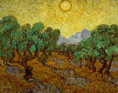 Van Gogh Olive Trees, 1889