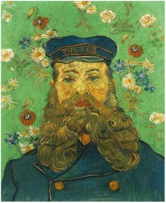 Van Gogh - Portrait of Postman Joseph Roulin, 1888
