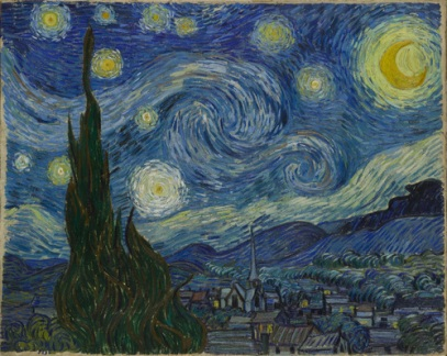 Van Gogh - Starry Night, 1889