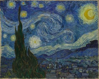 Van Gogh - Starry Night, 1889