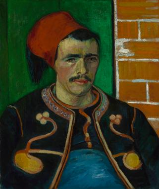 Van Gogh - The Zouave, 1888