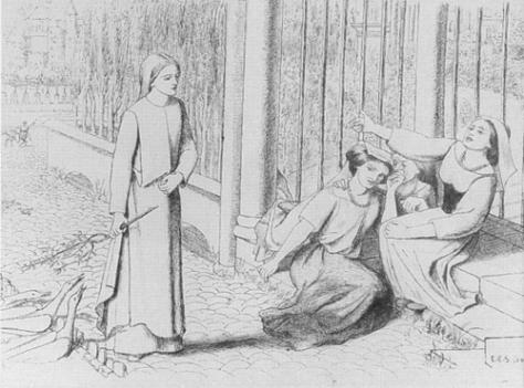 Siddal - Pippa Passes, 1854
