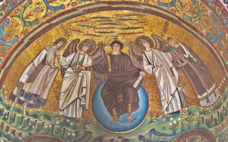 Basilica of San Vitale - Christ Enthroned, 547 CE
