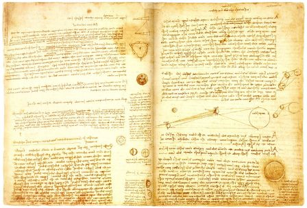 Page from Codex Leicester