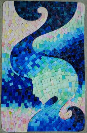 Paper Sea Mosaic