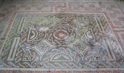 Roman Britain townhousefloor