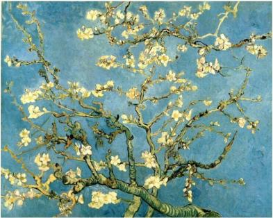 Van Gogh - Almond Tree, 1890