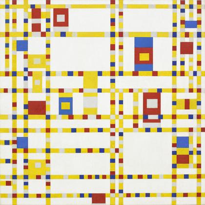 Mondrian - Broadway Boogie Woogie, 1942-43