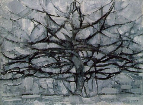 Mondrian - Grey Tree, 1912