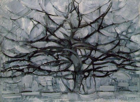 Mondrian - Grey Tree, 1912