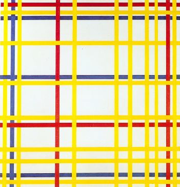 Mondrian -New York City I, 1942