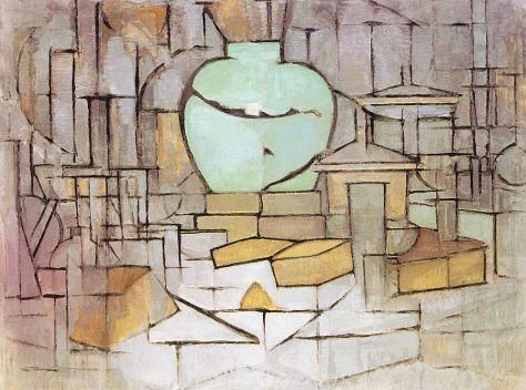 Mondrian - Still Life with Ginger Pot, 1912