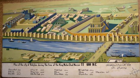 Plan of the City of Babylon