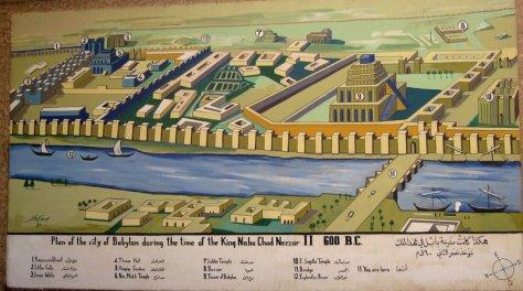 Plan of the City of Babylon