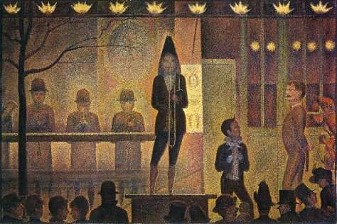 Seurat - La Parade du Cirque, 1889