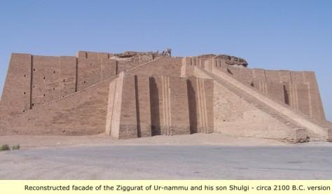 Today Ur-Nammu Ziggurat