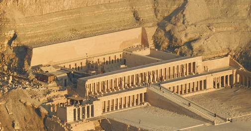 Temple of Hatshepsut, Deir el Bahri, Egypt