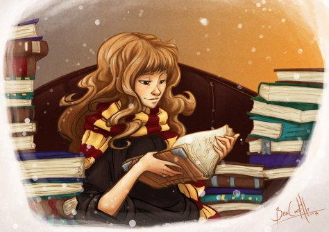 Hermione and Books