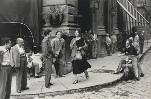 Ruth Orkin - American Girl in Florence Italy, 1951