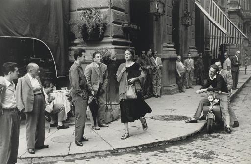 Ruth Orkin - American Girl in Florence Italy, 1951